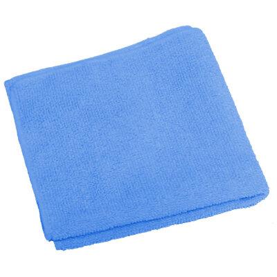 Тряпка для пола из микрофибры 40х50 см Рыжий Кот M-02F, цвет: синий