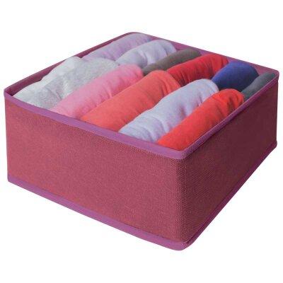 Рыжий КОТ Коробка для хранения мелких вещей, 28x28x13 см