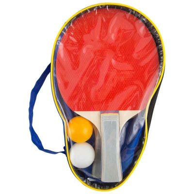 Набор ракеток для игры в настольный теннис PPSet-07 2 шт + 2 шарика в сумочке