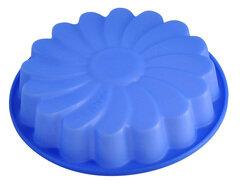 Круглая форма для выпечки кекса «Хризантема» силиконовая Regent 93-SI-FO-14 24х4 см