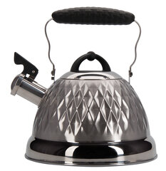Regent 94-1504 Металлический чайник для плиты 2.4 л со свистком