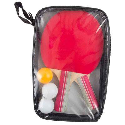 Набор для игры в настольный теннис PPSet-06 в сумочке 2 ракетки и 3 шарика