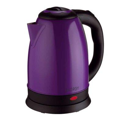 Чайник электрический 1.8 л ENERGY E-292 стальной фиолетовый 1500 Вт диск