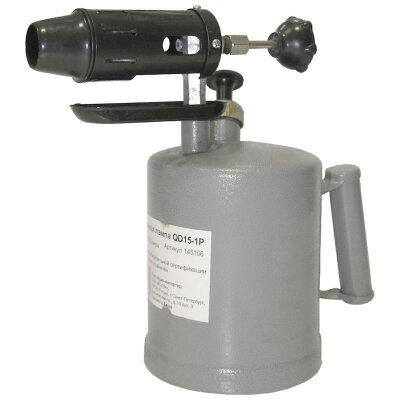 Паяльная лампа QD15-1P 1,5 литра на бензине