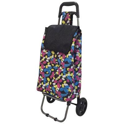 Тележка хозяйственная легкая с сумкой B201 до 25 кг  диаметр колеса 150 мм