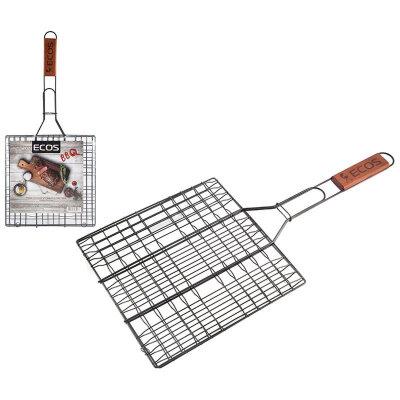 Решетка для барбекю с антипригарным покрытием X-382-NSW 6 секций 25х25 см, общая длина 54 см