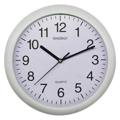 Часы настенные кварцевые ENERGY ЕС-127 круглые с плавным ходом 27.4x4.2 см