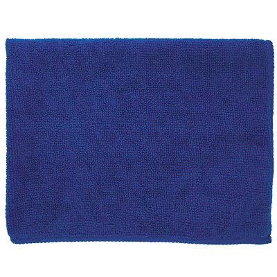 Тряпка мытья пола из микрофибры 35х45 см Рыжий Кот M-02F-S, синий цвет