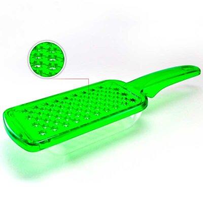 Терка плоская с поддоном и ручкой 24.5x7x4.5 см пластиковая