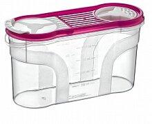 Банка для сыпучих продуктов 1400 мл арт. 30312 Дунья Догуш пластиковая  с дозатором