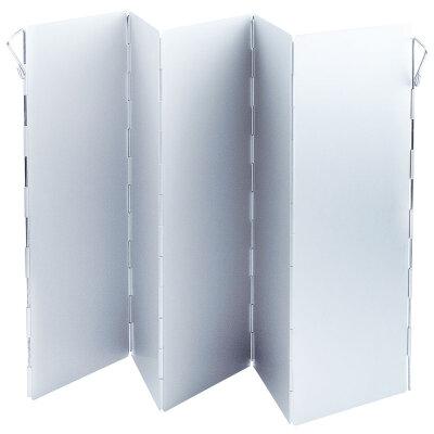 Экран ветрозащитный для туристической плитки ECOS WS1-6002 из 5 алюминиевых панелей