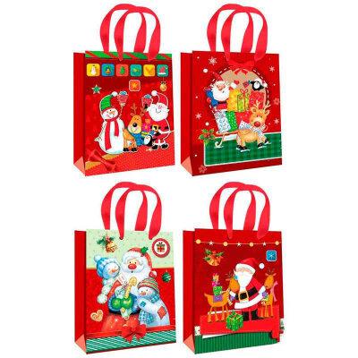 """Подарочный пакет с новогодней символикой Winter dreams"""" M"""