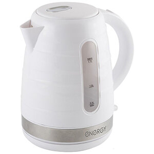 ENERGY E-299 Чайник 1.7 л пластик, белый