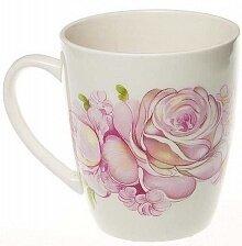 """Кружка 260мл """"Розовые розы"""" с0176/8рр, фаянс"""