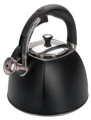 Regent 93-TEA-31 Чайник для плиты 3 л со свистком Черный