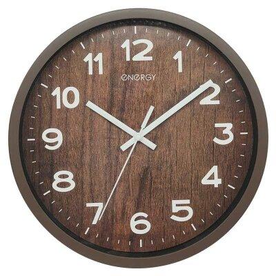Часы настенные кварцевые ENERGY С-130 круглые 24.9 см плавный ход