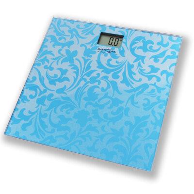 Весы бытовые напольные электронные до 150 кг MAXTRONIC MAX-260 поверхность стекло, точность 100 гр