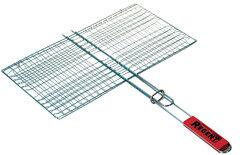 Решетка-гриль плоская для мангала хромированная сталь Regent 93-PIC-71-1 45x25 см