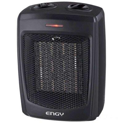 Тепловентилятор керамический для дома Engy KRP-3 Black 1500 Вт настольный