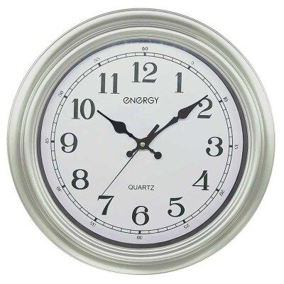 Часы настенные кварцевые ENERGY ЕС-134 круглые 40x5.1 см плавный ход