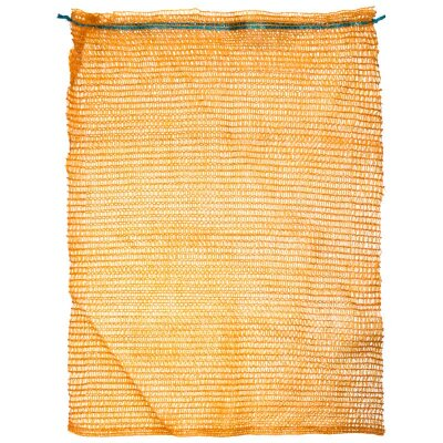 Сетка мешок 50х80 см для овощей, желтая