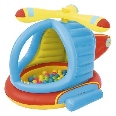 Bestway 52217 Вертолёт надувной детский с 50 шариками 140х127х89 см