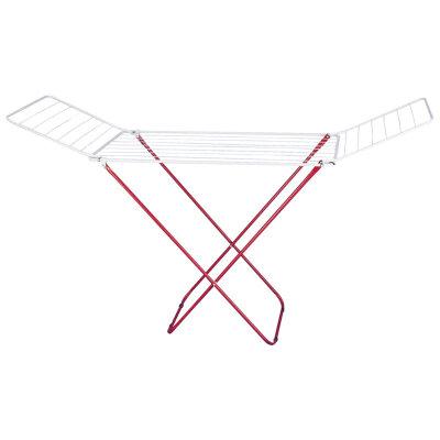 Сушка напольная складная для белья 18 м Рыжий КОТ CD-18 до 10 кг, размеры 180х50х105 см
