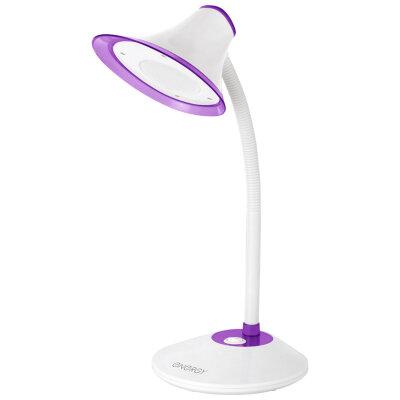 Светильник настольный светодиодный 5 Вт ENERGY EN-LED20-2 Белый с фиолетовым