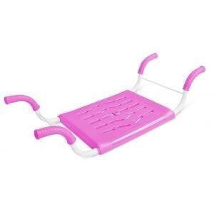 Сидушка в ванну для пожилых НИКА СВ4 см до 80 кг, Розовая