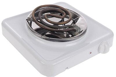 Плитка настольная электрическая однокомфорочная 1 кВт Пскова-1 ЭПТ-1/220 цвет Белый
