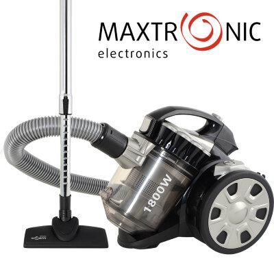 Пылесос MAXTRONIC MAX-HJW-1409S 1800Вт, мощность всасывания 360Вт