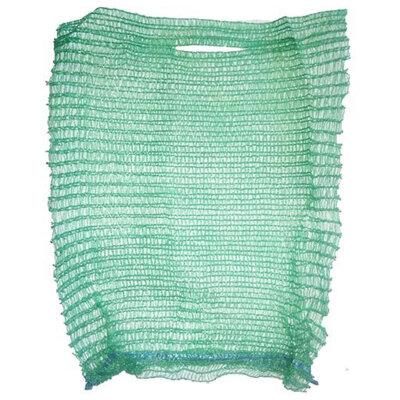 Мешок сетка для овощей, зеленая, 25х39 см