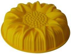 Силиконовая форма для выпечки кекса «Подсолнух» Regent 93-SI-FO-15 , 24.5x6.5 см