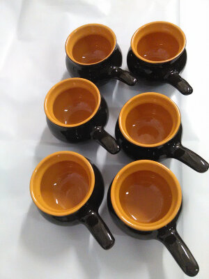 ПРЕСТИЖ Кокотницы керамические 6 штук по 0.25 литра для жульена
