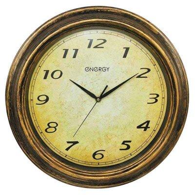 Часы настенные кварцевые ENERGY ЕС-133 круглые 40 см с плавным ходом