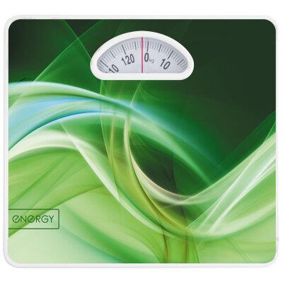 Весы бытовые напольные механические до 120 кг Energy ENМ-408A крупные цифры, металлический корпус