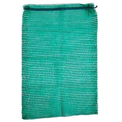 Сетка мешок 50х80 см для картофеля зеленая 5 штук