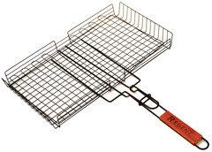 Решетка гриль глубокая стальная с антипригарным покрытием Regent 93-PIC-73-2 45x25 см