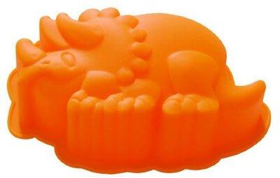 Форма для выпечки кекса «Динозаврик» из силикона Regent 93-SI-FO-98 9х14х4 см