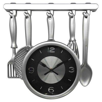 Часы настенные кварцевые HOMESTAR HС-08 плавный ход 33.1x34.5x4.3 см