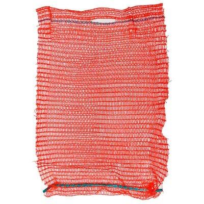 Мешок сетка для овощей  красная 30х47 см 5 шт