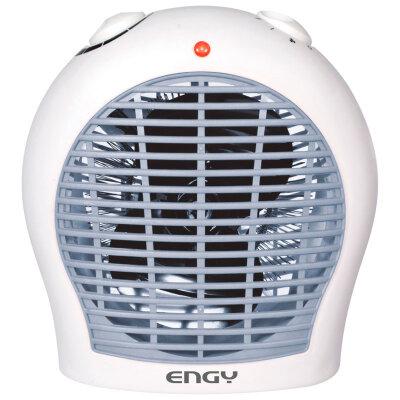Тепловой вентилятор спиральный для дома 2 кВт Engy EN-516 paints серо-голубой