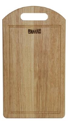 Доска разделочная деревянная 36х20 см Regent 93-BO-1-05 гевея