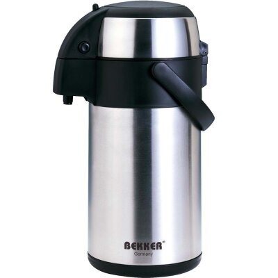 Термос с помпой на 2.5 литра BEKKER BK-4015