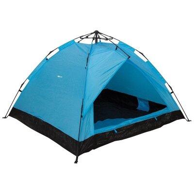 Полуавтоматическая палатка двухслойная Breeze 210х180х115 см на 2-3 человек