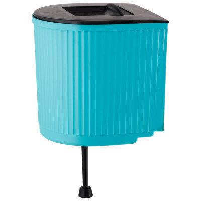 Рукомойник пластиковый 5 л с крышкой для дачи GRINDA 428494-5  Россия