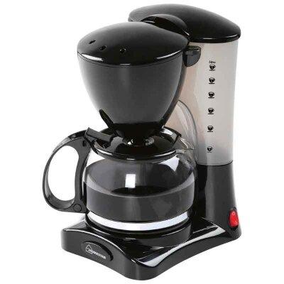Кофеварка электрическая HOMESTAR HS-2021 черная 550 Вт 0.6 л функция подогрева