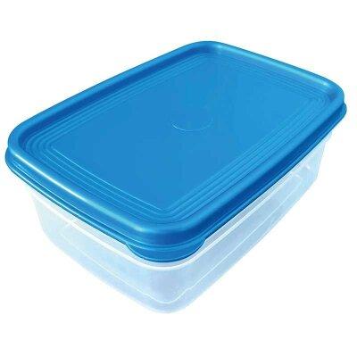 Контейнер пластиковый 1 л для пищевых продуктов Mallony с крышкой 18.3x13x7 см