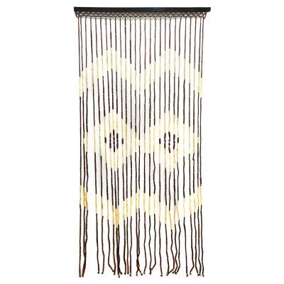 Бамбуковый занавес на дверь 90х180 см с рисунком 27 полос