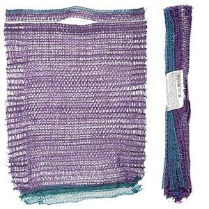 Мешок сетка для овощей комплект 5 шт 25х39 см, фиолетовый